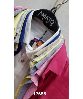 Рубашка amato 17655 д/р