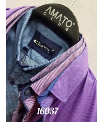 рубашка AMATO 16037 к/р