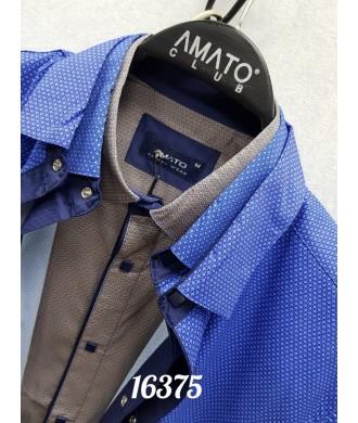 Рубашка amato 16375 к/р