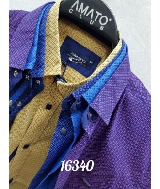 Рубашка amato 16340 к/р