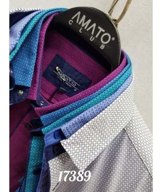 Рубашка AMATO 17389 к/р