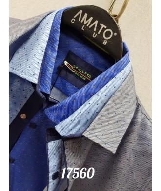 Рубашка AMATO 17560 к/р