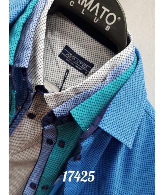 Рубашка amato 17425 к/р