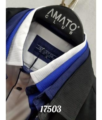 рубашка AMATO 17503 к/р
