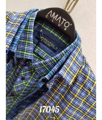 рубашка AMATO 17045 к/р