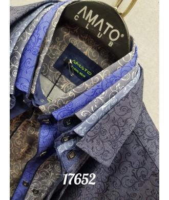 Рубашка amato 17652 к/р