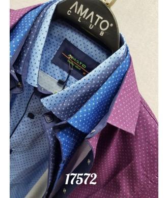 Рубашка amato 17572 к/р
