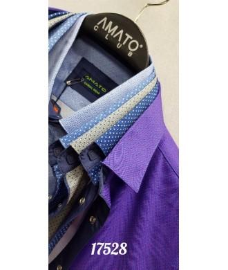 рубашка AMATO 17528 к/р