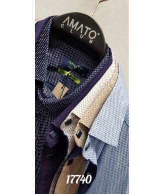 рубашка AMATO 17740 к/р