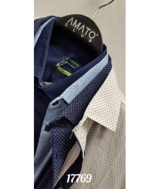 рубашка AMATO 17760 к/р