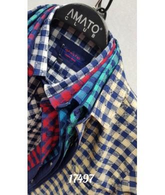 рубашка AMATO 17497 к/р