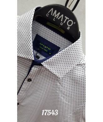 рубашка AMATO 17543 к/р